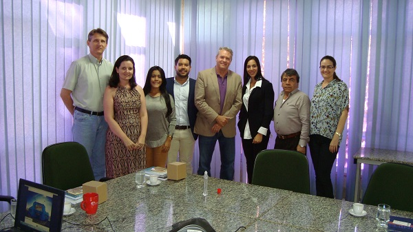 Comitiva da Universidad de La Costa, da Colômbia, Visita Unifei