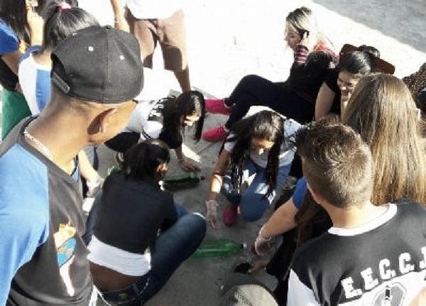 Alunas da Unifei Participam de Minicurso de Educação Ambiental Em Escola Pública de Itajubá