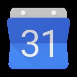 Logotipo Google Calendar é uma folha de calendário contendo o número 31