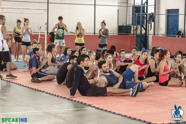 Cerca de 60 pessoas participaram do Cheer Camp – Academia de Heróis.