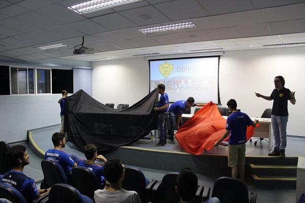 No dia 17 de outubro, a equipe realizou o 1º roll-out, evento realizado para lançamento de aeronaves projetadas e construídas pela equipe para competição de 2019